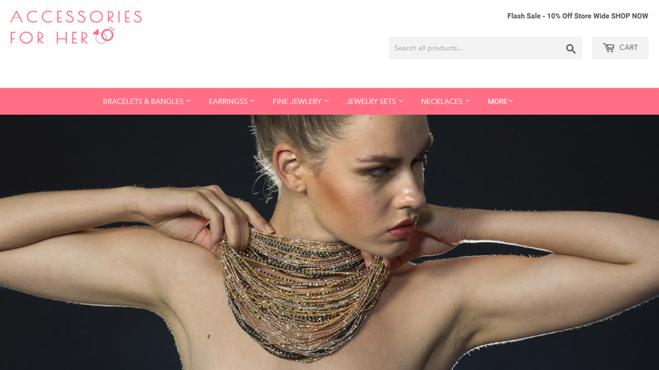 Jewelry Shopify Stores For Sale