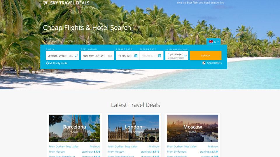 US/Global Travel Deals Sites For Sale