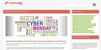 UK Voucher Code Site For Sale