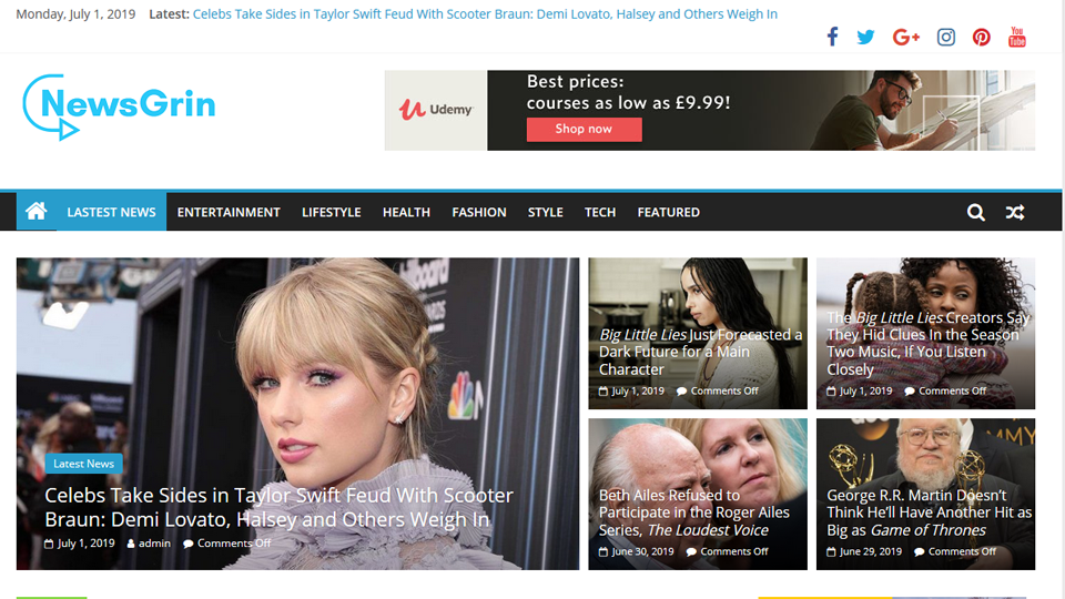 Automated Viral News Site For Sale